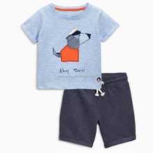 Kids clothing wholesale children outfits boys summer clothing 2 pcs set