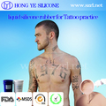 medical reusable liquid silicone rubber for tattoo pratise