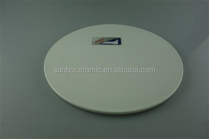 stocklot white ceramic hotel/restaurant used pizza plates
