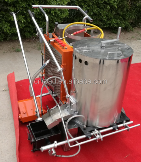 Automatic Thermoplastic Road Line Paint Marking Machine for sale