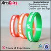 New fashion no minimum free sample silicone wristband