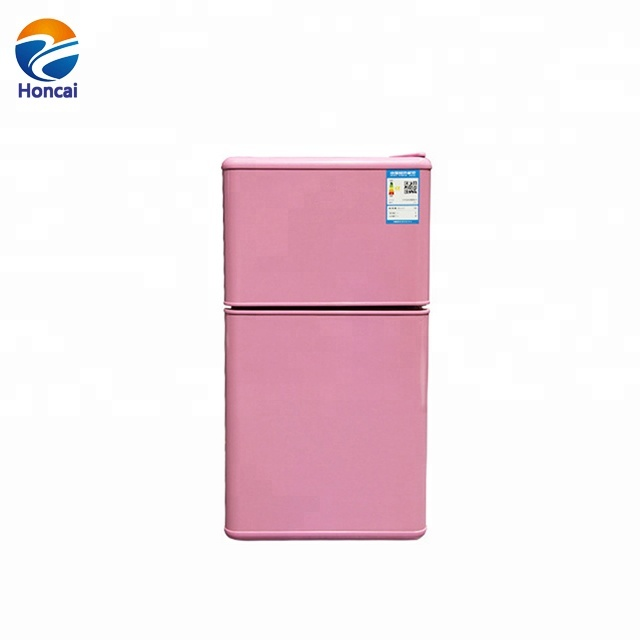 HC-55 55 litre home <strong>appliances</strong> small double door refrigerator family double temperature hotel refrigerator