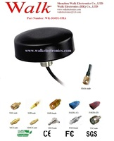 car antenna GSM 3G screw mount: Multi band antenna, car antenna, SMA connector and RG174 cable