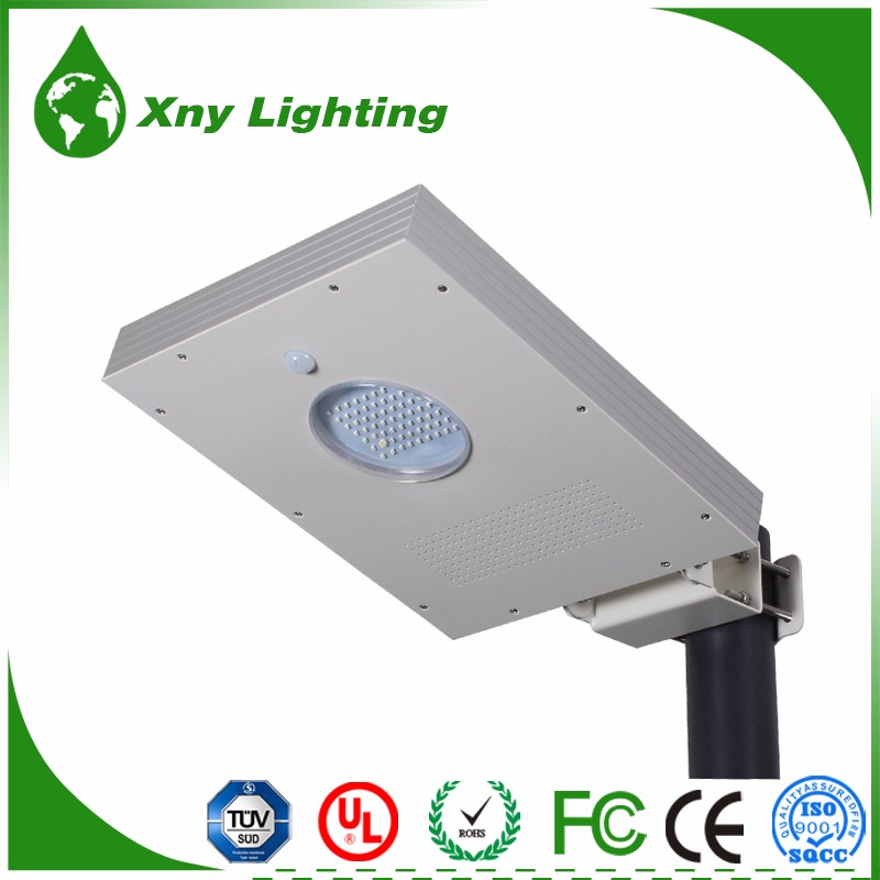 Motion Sensor Garden Security Lamp Outdoor Waterproof 8w LED Solar Power street Light