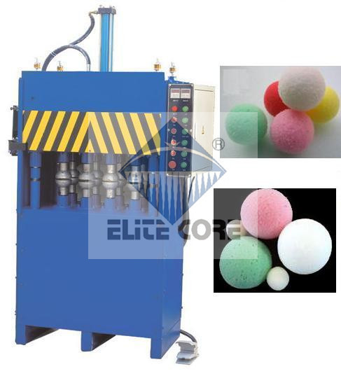 Ecmt-121 automatique balle en mousse fraiseuse / mousse balle production machines