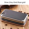 2 in 1 hybrid pc thin frame silicone shockproof case bumper cover for iphone 7