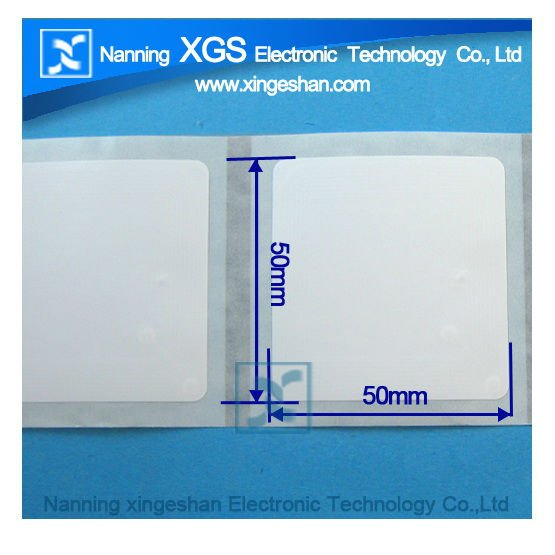 iso15693 blank rfid sticker paper label for Asset Management