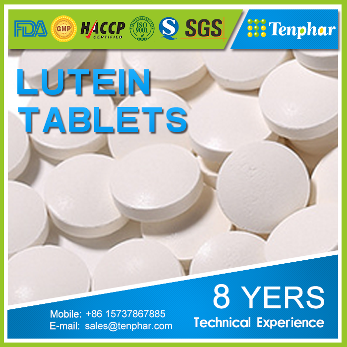 China Manufacture Lutein and Zeaxanthin Tablets