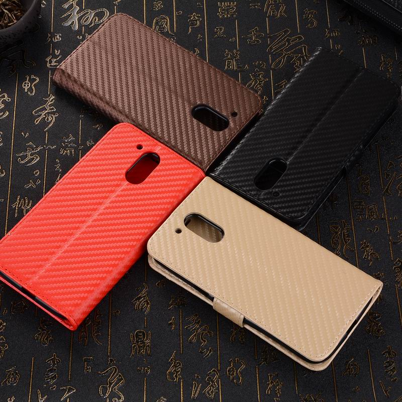Promotional Phone <strong>Case</strong> for MOTO G4, for MOTO G4 Plus Carbon fiber Leather <strong>Case</strong>