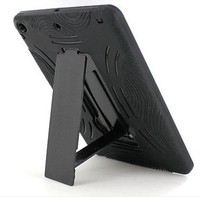 For Apple iPad 2 Heavy Duty Hard & Silicon Cover Case with Foldable Stand Made In China