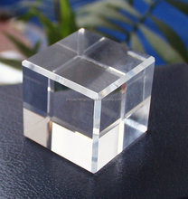 50mm High Quality K9 Blank Optical Crystal Cube for 3D and 2D laser