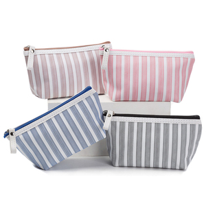 In Stock Polyester Cute Cosmetic Pouch Make up Bag