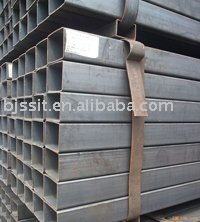 Welded Rectangular Pipe ST 37 Stock Supply