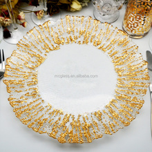 Cheap Clear Wedding Decoration Charger Plate Wholesale