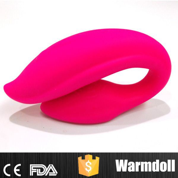 Red Penguin Design Top Sex Toy Silicone Silent Vibrator For Japanese Sex Girl