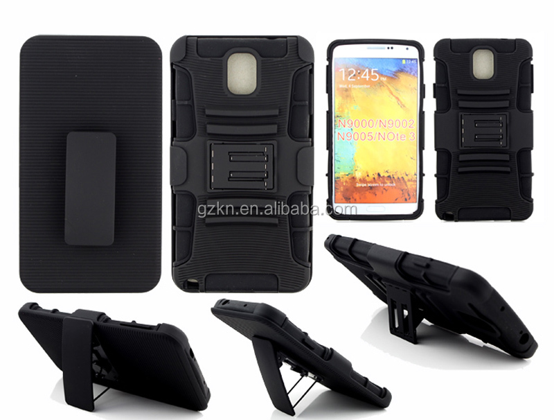 Robot protective holster case for Samsung Galaxy note 3 N9000