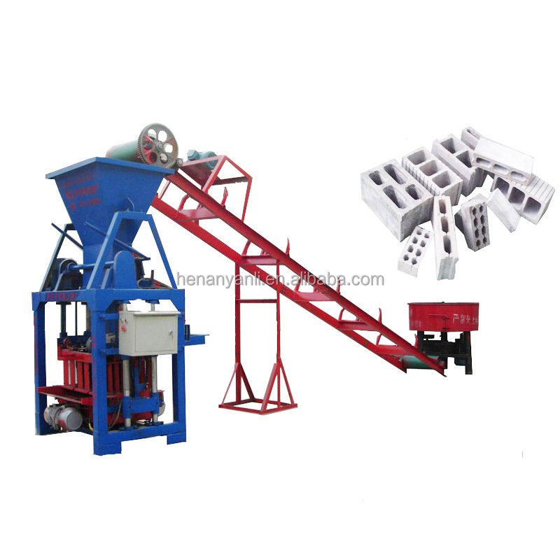 Henan zhengzhou smaller part concrete brick molding machine of high quality