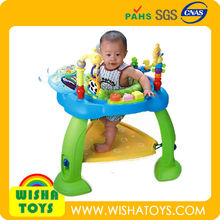 Hot Sale Baby Walker Jumping Chair Musical Toys With Piano Keyboard