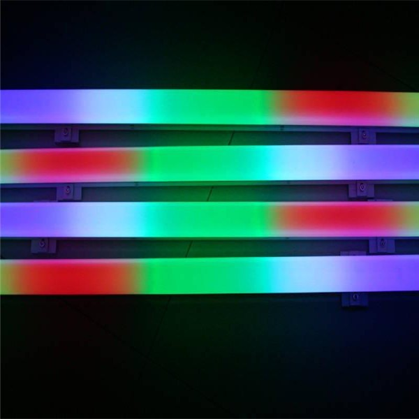 PVC dmx rgb led digital tube in full colour 10w led guard rail <strong>lights</strong>