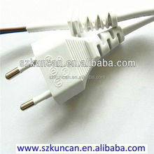 230 volt power cord with stipped or IEC end
