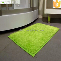 100% polyester latex backing washable rug