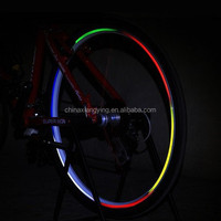 customized decorative reflective bike wheel sticker