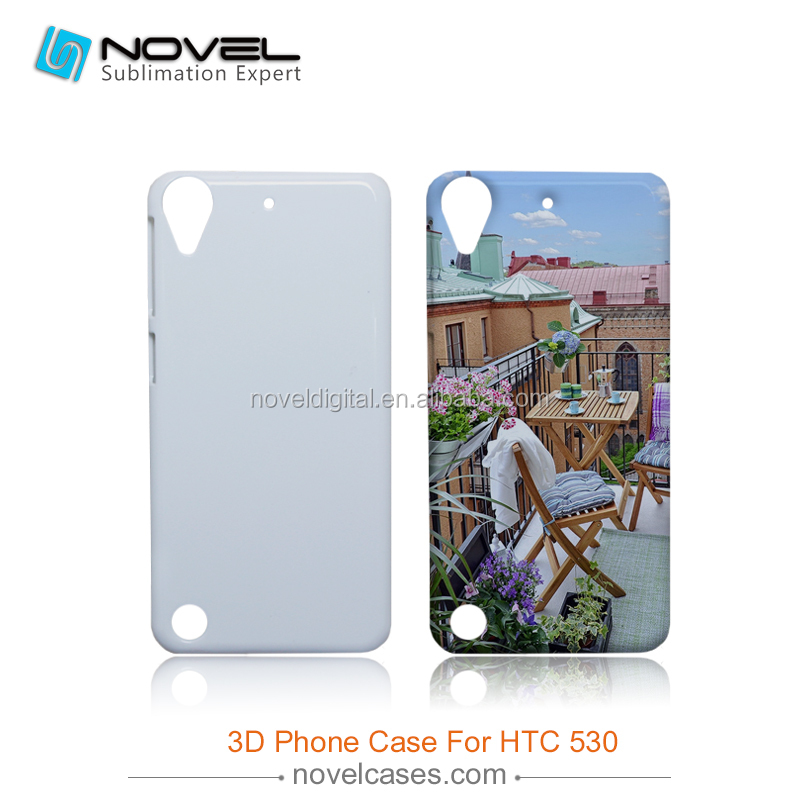 Hot Sale 3D Sublimation Phone Case Cover for HTC Desire 530, DIY Phone Case Cover