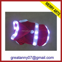 Alibaba china supplier wholesale wholesale led lighted up flashing pet dog clothes