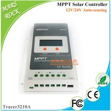 Max. 98% Conversion Efficiency Tracer3210A 30A 12V 24V Auto Work MPPT Solar Charge Controller