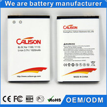 1020mah bl-5c bl 5c battery for Nokia 1100 1101 1110 1110i 1112 1200
