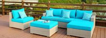 6pcs Rattan Sofa Set