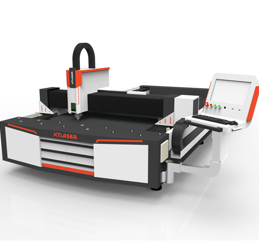 1000w fiber laser cutting computerized embroidery machine for galvanized sheet