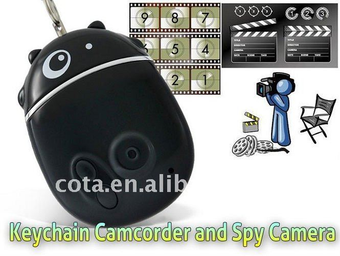 4GB 640*480 Personal Security Equipment Of Cow Shape Keychain CT1201