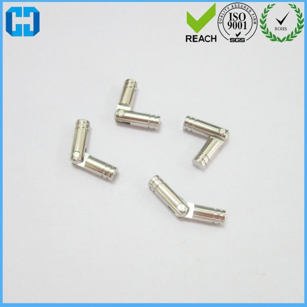 Nickle Cylinder Shape Rotary Window Drawer Door Pin Hinges