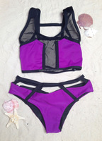 2016 Venus vacation open hot sexy young girls fashion push up bandeau bikini swimsuit