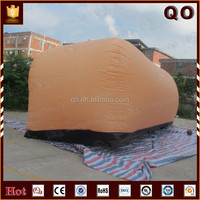 2015 Newest customized outdoor protect inflatable car cover for selling