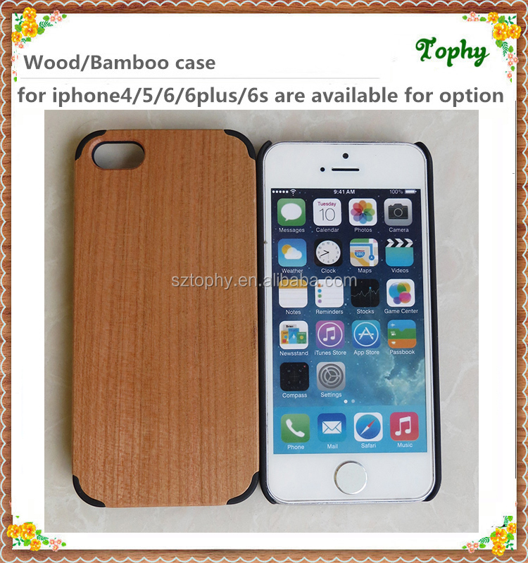 2016 Best selling product for iphone 5 case wooden, For iphone 5 wood cover case, For iphone 5 hybrid Wood + Hard rubber case