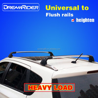 DreamRider No noise universal aluminum auto car roof rack 4x4 luggage rack bar removable