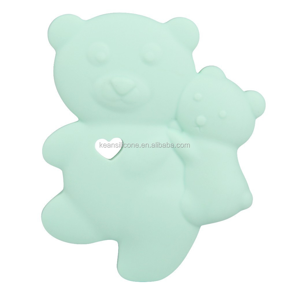 Funny Japan Silicone Moving Bear Teether Plastic Animal Toys For Kids