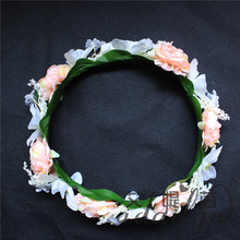 Artificial flower heads making decorations wreath supplies wholesale