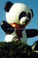 2016 Guangzhou inflatable panda balloon /jumbo size inflatable Panda