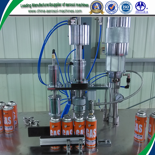 220g butane gas filling machine from china biggest manufacturer