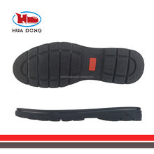 Sole Expert Huadong black boots shoes rubber soles for men's shoes making