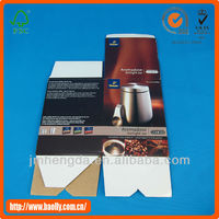 Corrugated paper carton box material specifications of kettle