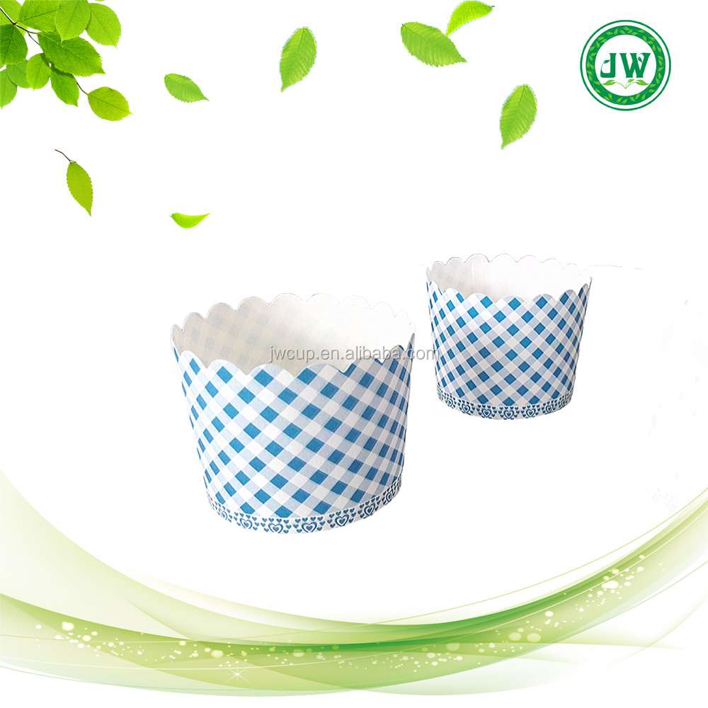 lattice Cupcake Wrapper Paper Cake Case Baking Cups Liner Muffin Kitchen Baking Blue lattice