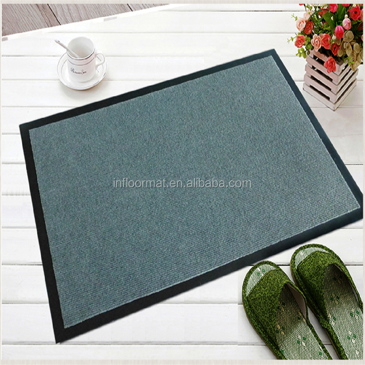 Alibaba China Supplier Wholesale Polyester Fiber Entrance Door Mat
