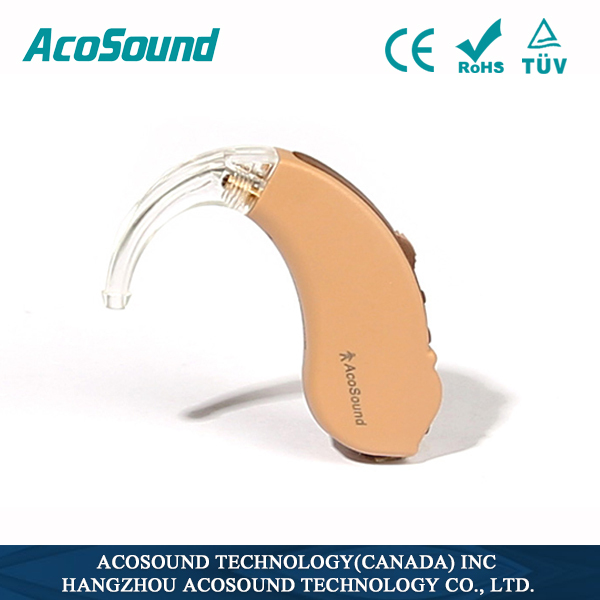 AcoSound AcoMate 210 BTE China Supplies Best Price Manufacture Hearing Aids Mini Ear Amplifier