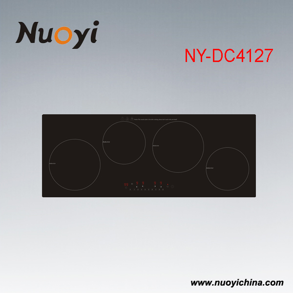 Build-in Type & Touching Switch Induction cooker with 4 Burners