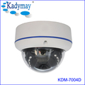 Support P2P ONVIF 4.0 MP HD Metal Dome IP Camera 20M IR Night Vision