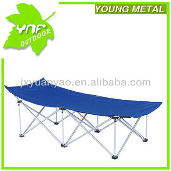 Deluxe folding campbed